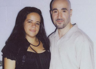 Suzette with her ex-husband