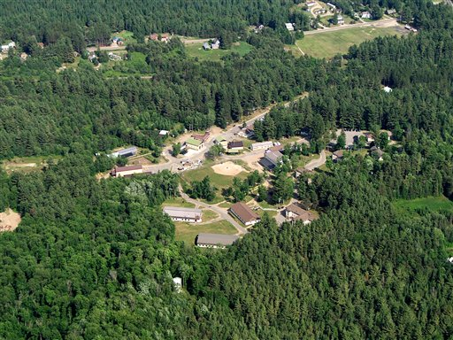 Camp Gabriels in Brighton, N.Y., is a minimum security prison 15 miles northwest of Lake Placid, NY. (AP Photo/New York State Office of General Services, HO)