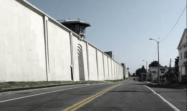 Clinton Correctional Facility in Dannemora, NY (Photo used with permission: Zachary Babbie)