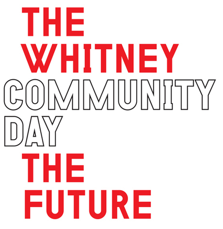 Whitney Community Day graphic. Image courtesy of content.standardculture.com.