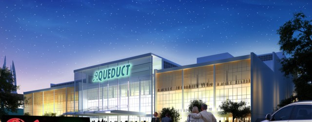 The Aqueduct Racetrack in Ozone Park, Queens is getting a makeover. After several years of battling for the highest bidder, Genting New York LLC celebrated the groundbreaking ceremony amidst politicians...