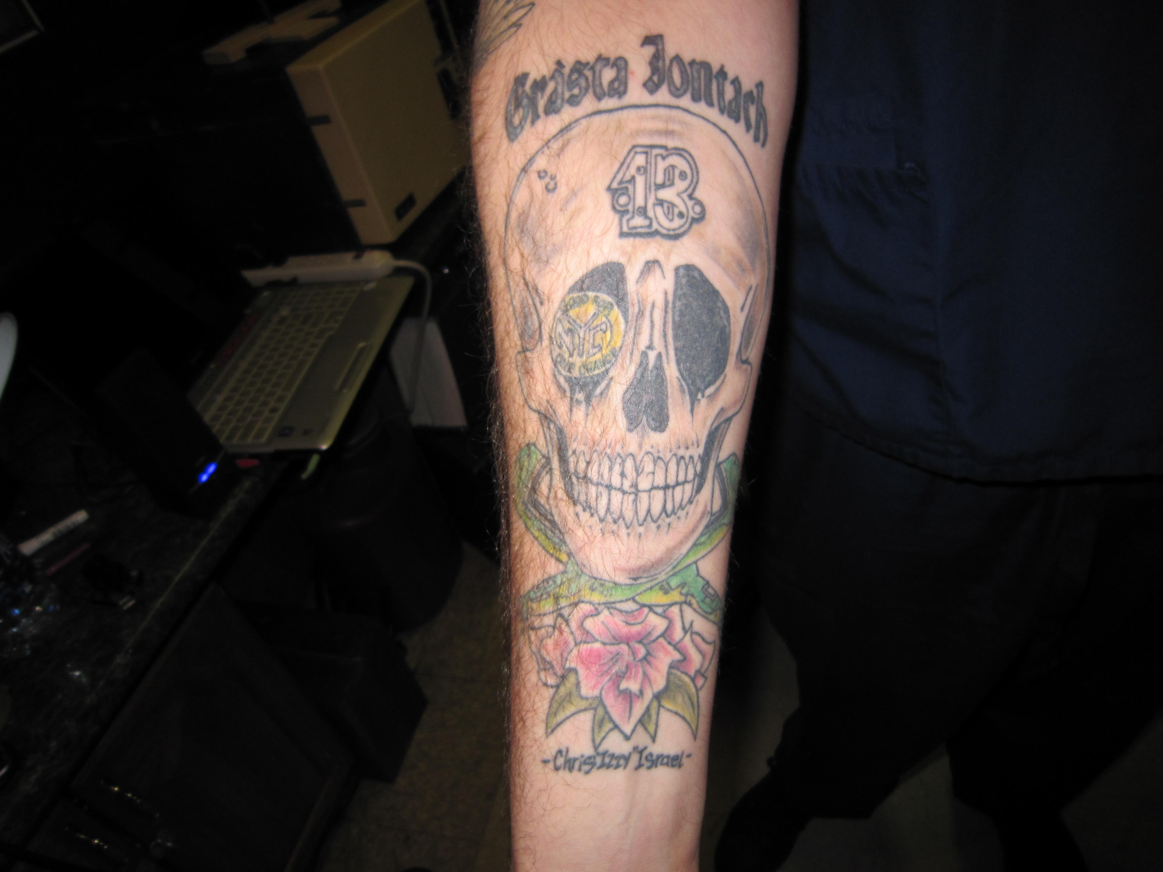 Japanese Dragon Head Tattoos title=