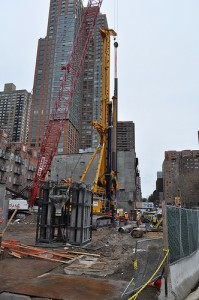 Second Avenue construction