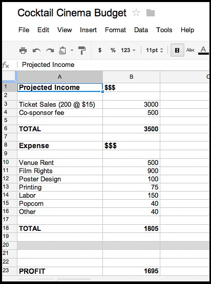 Revenue Opportunities: Events - Tow-Knight