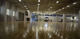 Basketball City still needs a paint job before opening. When the hoops come down, the facility could change the way basketball is played in the Lower East Side.