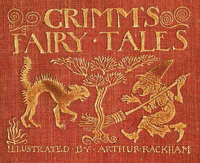 Cover of Grimm's Fairy Tales. Image courtesy of koldobarroso.com.