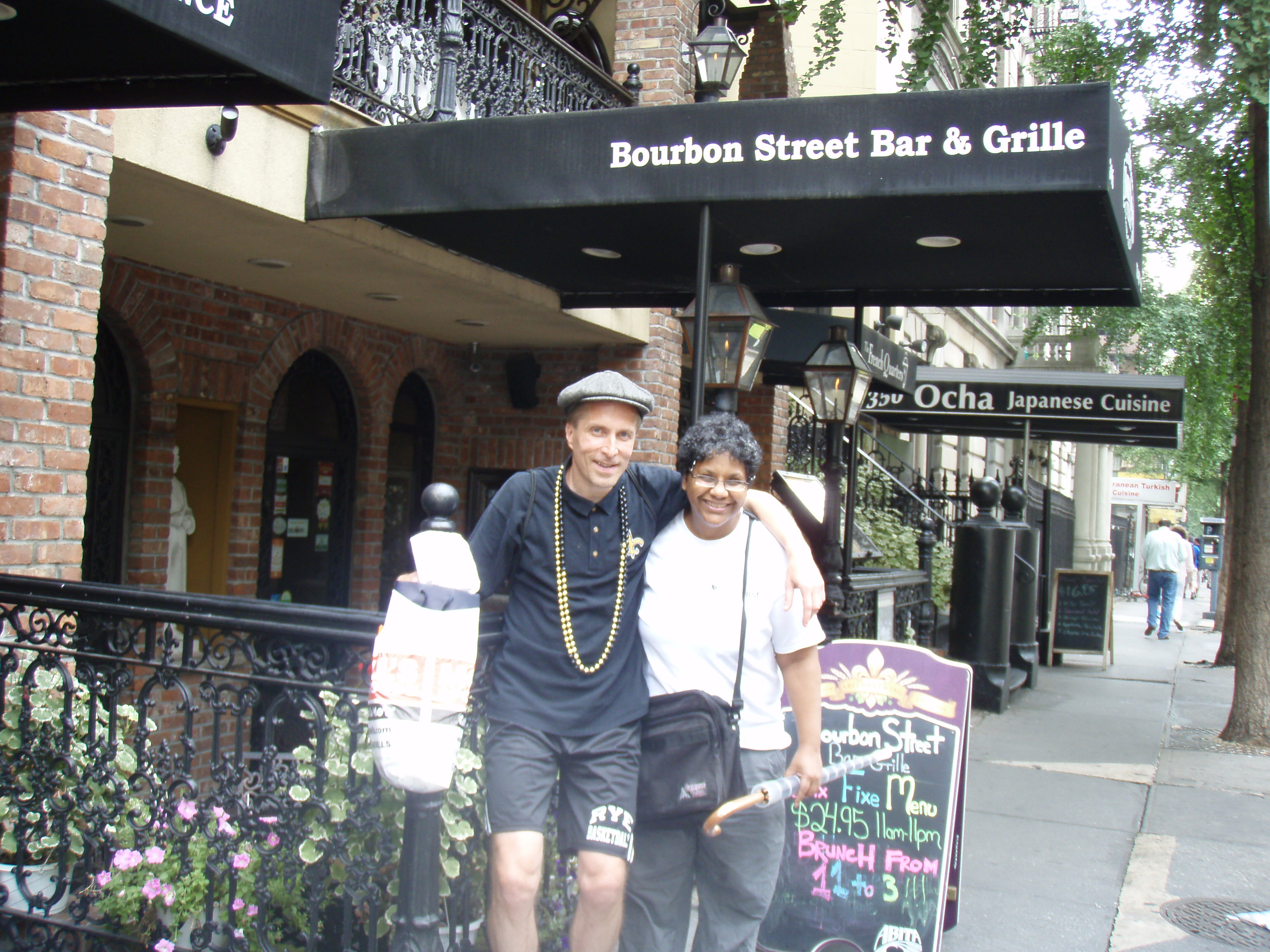 The scene: Bourbon Street Bar & Grille in midtown, a/k/a NYC's New Orleans embassy.