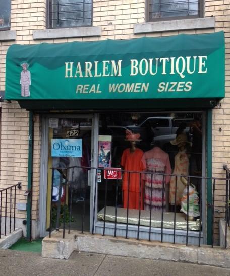 Harlem clothing store