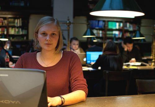 Raphael Blaßnig (25) ist keine Freundin von Bachelor und Master. Foto: Gotter