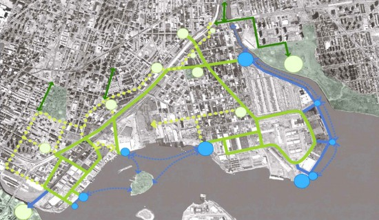South Bronx Greenway will open waterfront