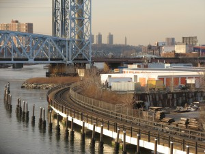 The warehouses and parking lots of the Harlem River waterfront may be replaced within a decade by modern development