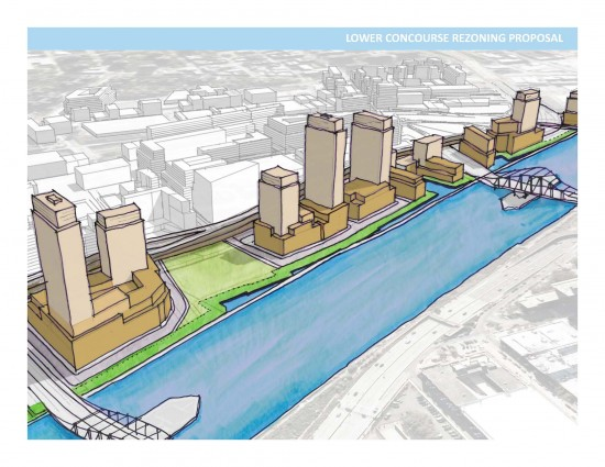 The proposed Waterfront District at a glance