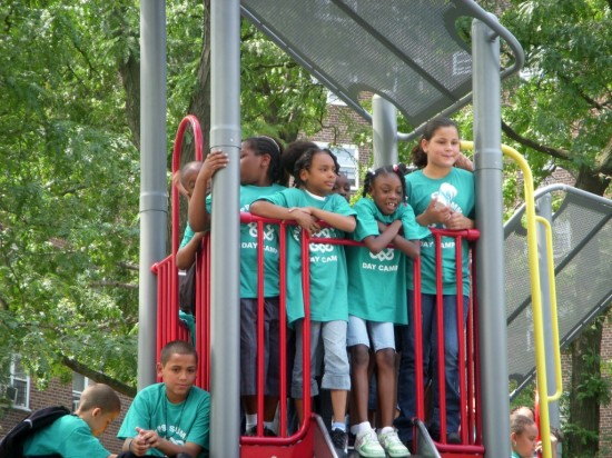 Melrose kids get new playground