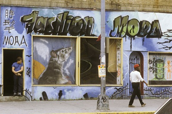 Blast from Mott Haven's past recalls an artistic keystone