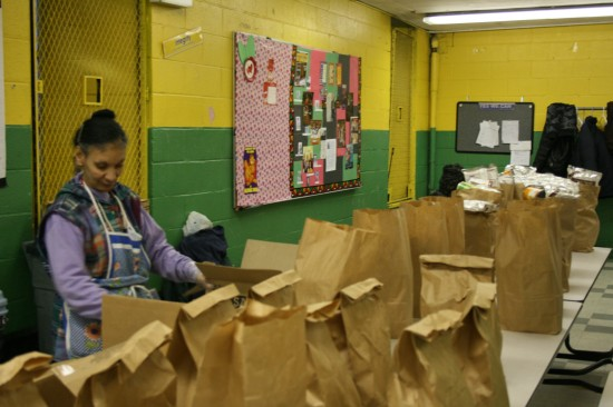Empty stomachs strain Mott Haven pantries
