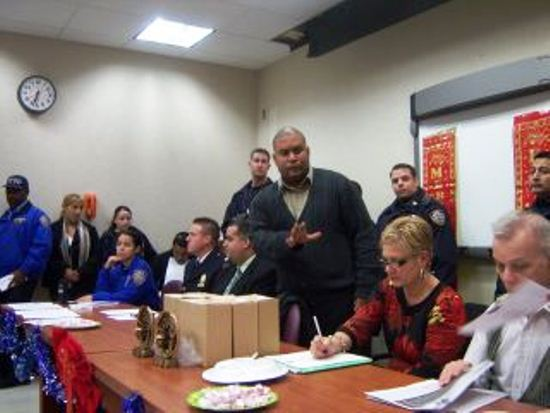 Police Council hears protest of Occupy arrests