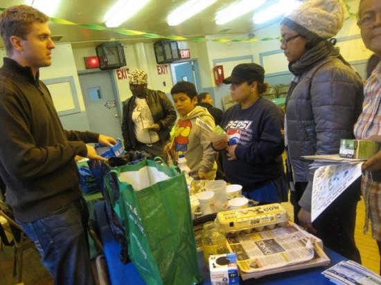 Public housing tenants team up against waste
