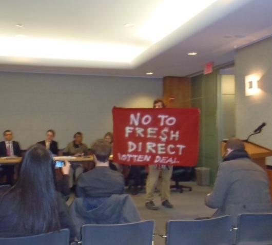 Mott Havenites say 'no deal' to FreshDirect