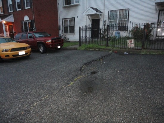 Homes, hearts sink on Prospect Ave.