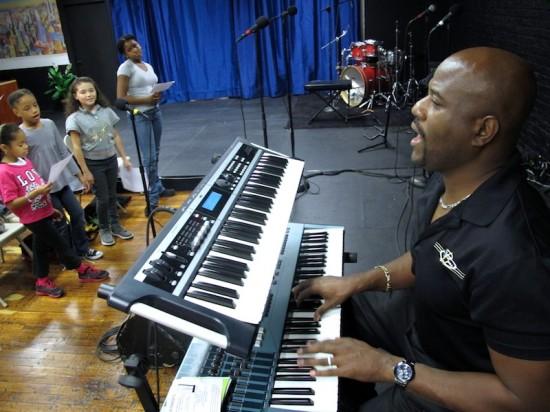 Educator inspires kids through music