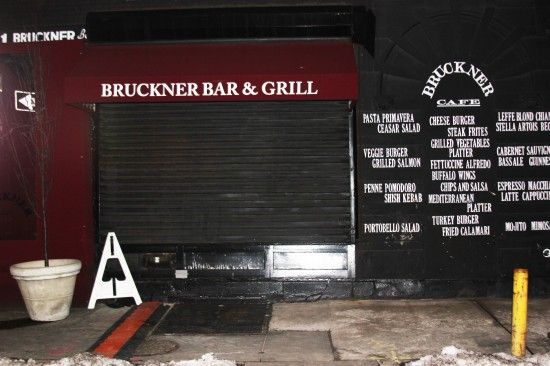 Bruckner Bar and Grill faces closure