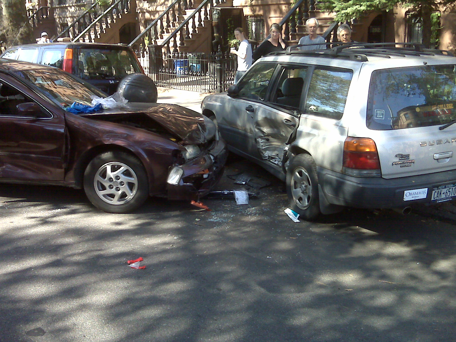 Describe A Car Accident Scene