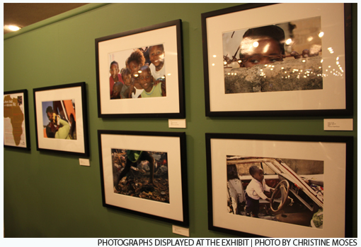 Photographs exhibited at UNAIDS Opening