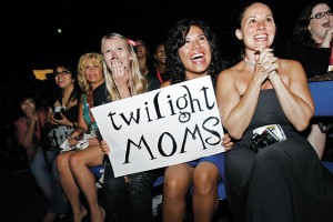 A picture taken from an article written on Twilight Moms in New York Magazine, November 2009